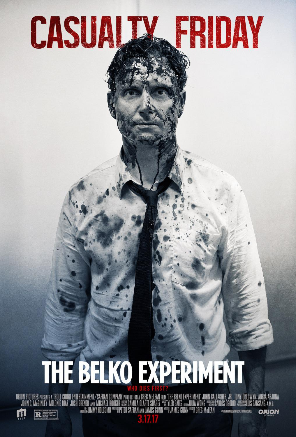 Belko experiment - film poster - casually friday