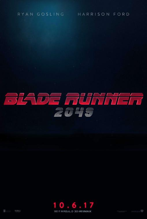 Blade Runner twenty forty nine 2049 - logo