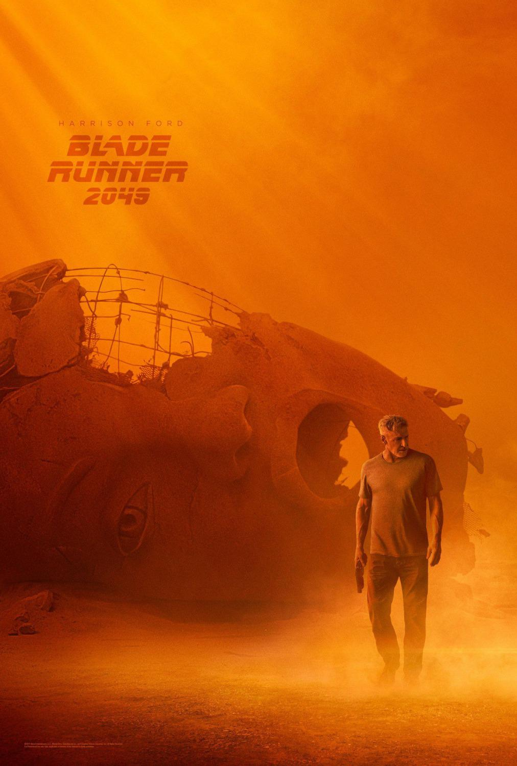 Blade Runner twenty forty nine 2049 - Harrison Ford - Ryan Gosling