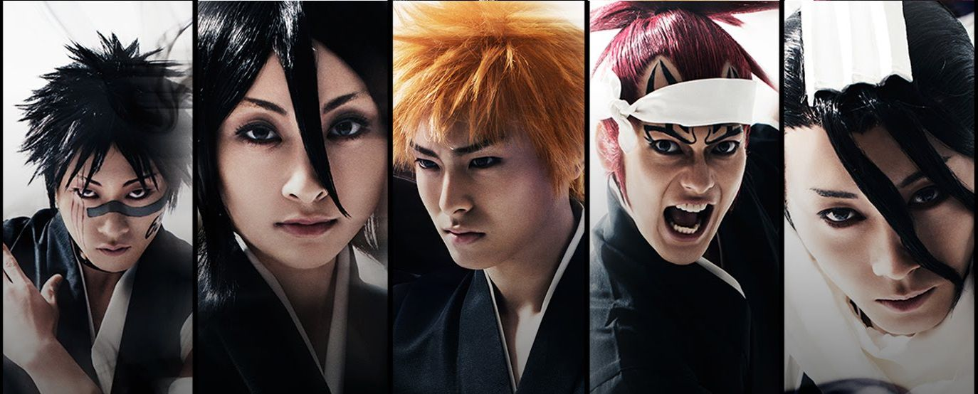 Bleach live action - real actors - characters