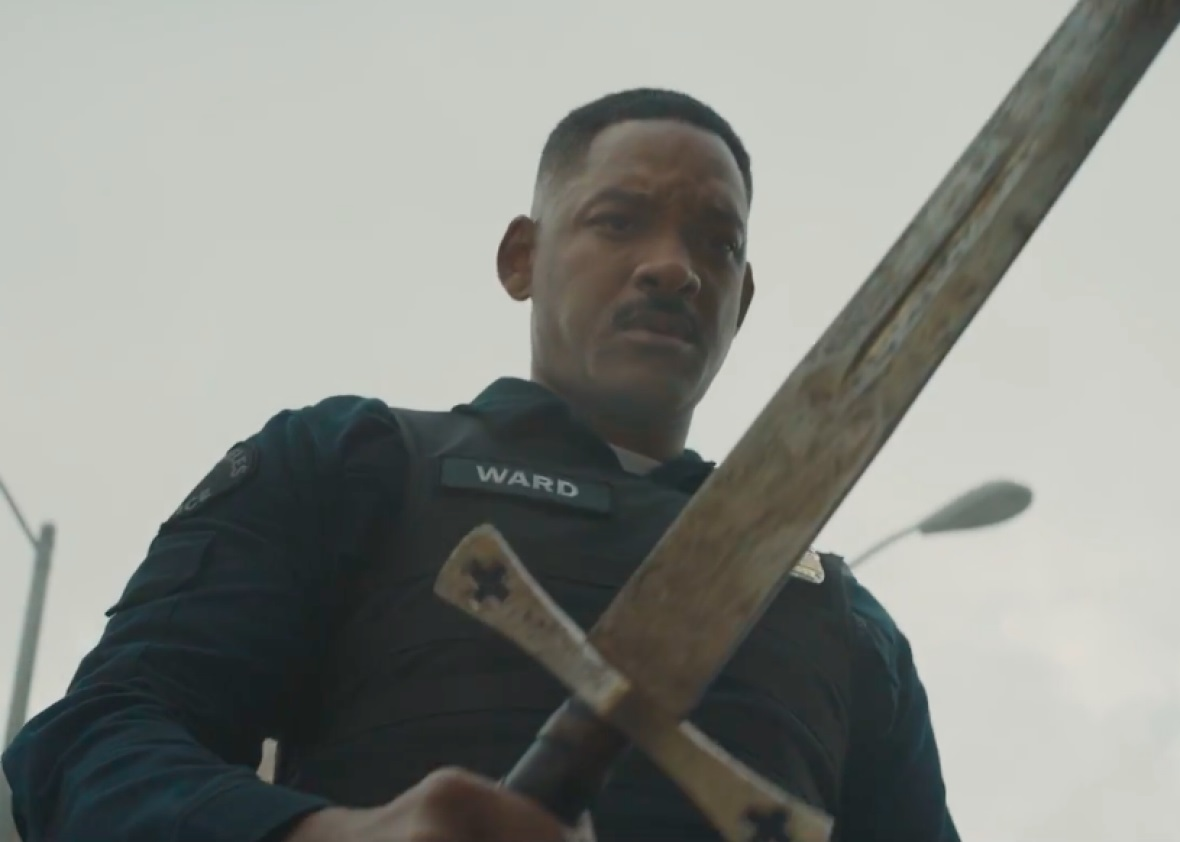 Bright Netflix movie film Will Smith 2017