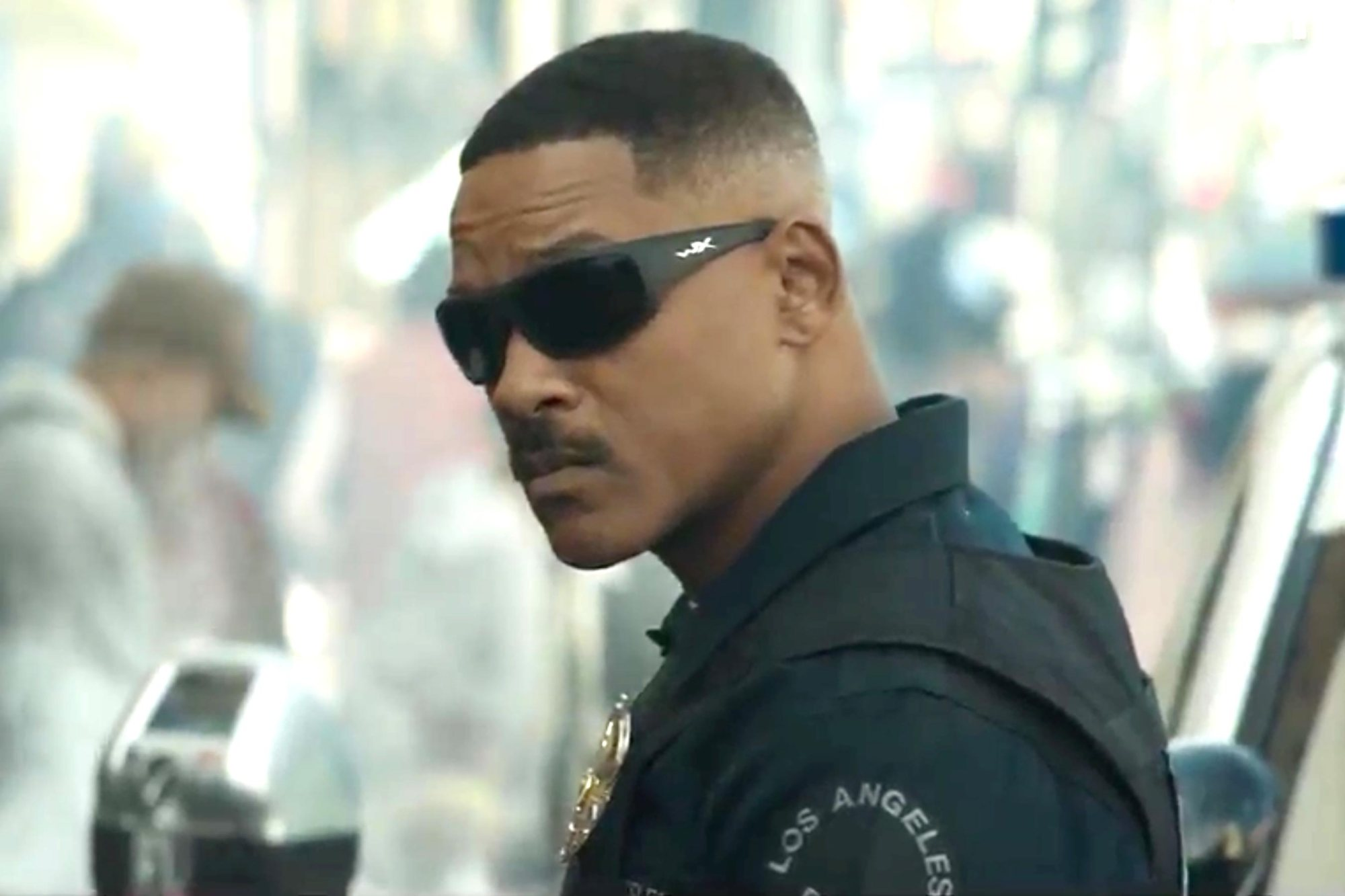 Bright - Netflix film -  Scott Ward (Will Smith)
