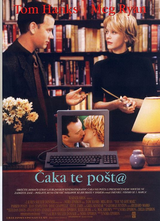 C'è posta per te - You ve got Mail - Deliziosa e divertente commedia romantica con Tom Hanks e Meg Ryan ....