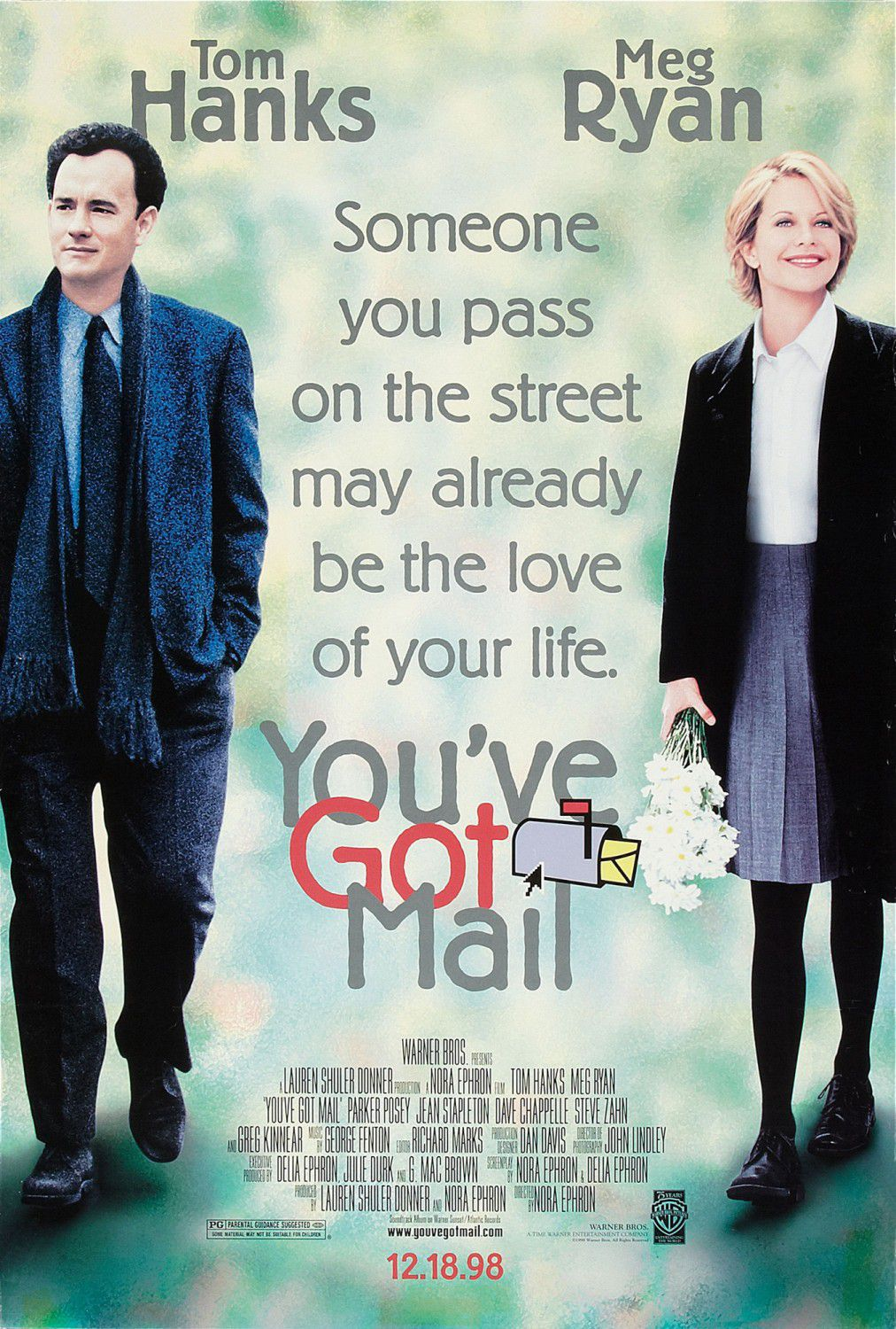 C'è posta per te - You ve got Mail - Joe Fox (Tom Hanks) - Kathleen Kelly (Meg Ryan)