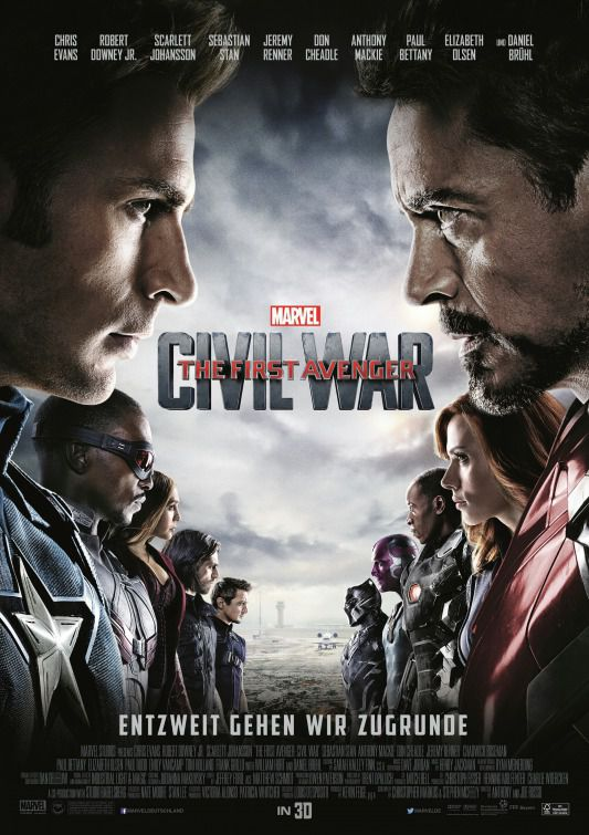 Captain America 3 - Civil War - Capitan America