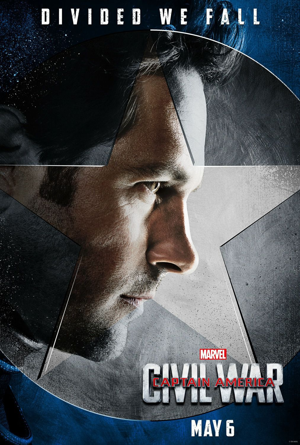 Captain America 3 - Civil War - Capitan America - Scott Lang - Ant-Man (Paul Rudd) - Antman