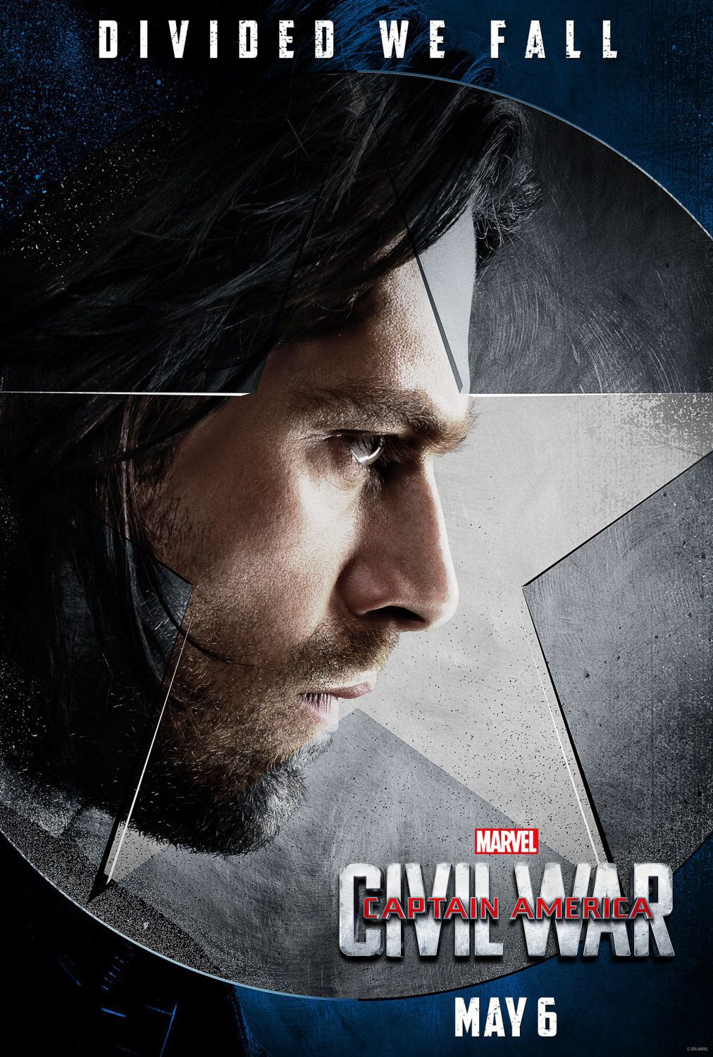 Captain America 3 - Civil War - Capitan America - Winter Soldier (Sebastian Stan)