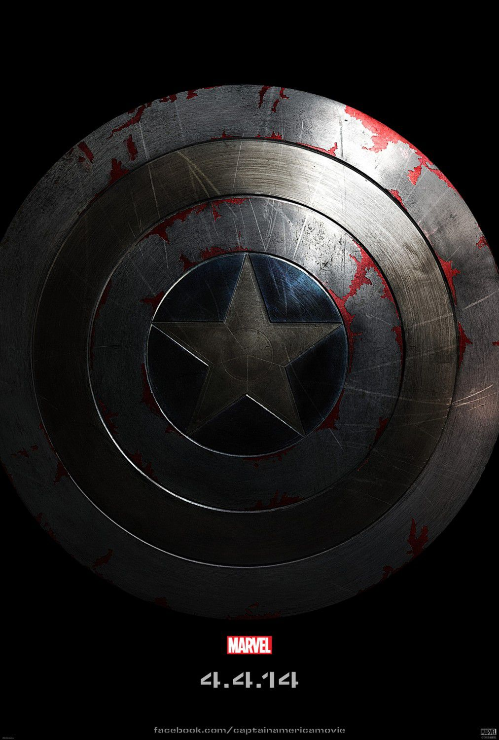 Film - Captain America 2 - the Winter Soldier - Capitan America - scudo - shield