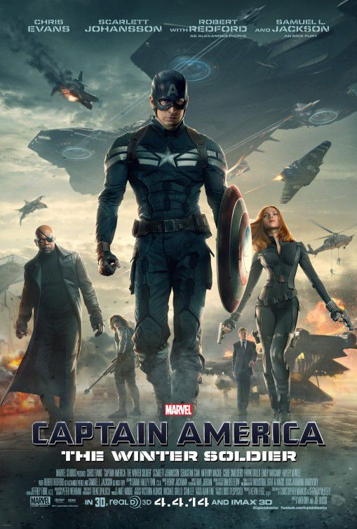 Film - Captain America 2 - the Winter Soldier - Capitan America