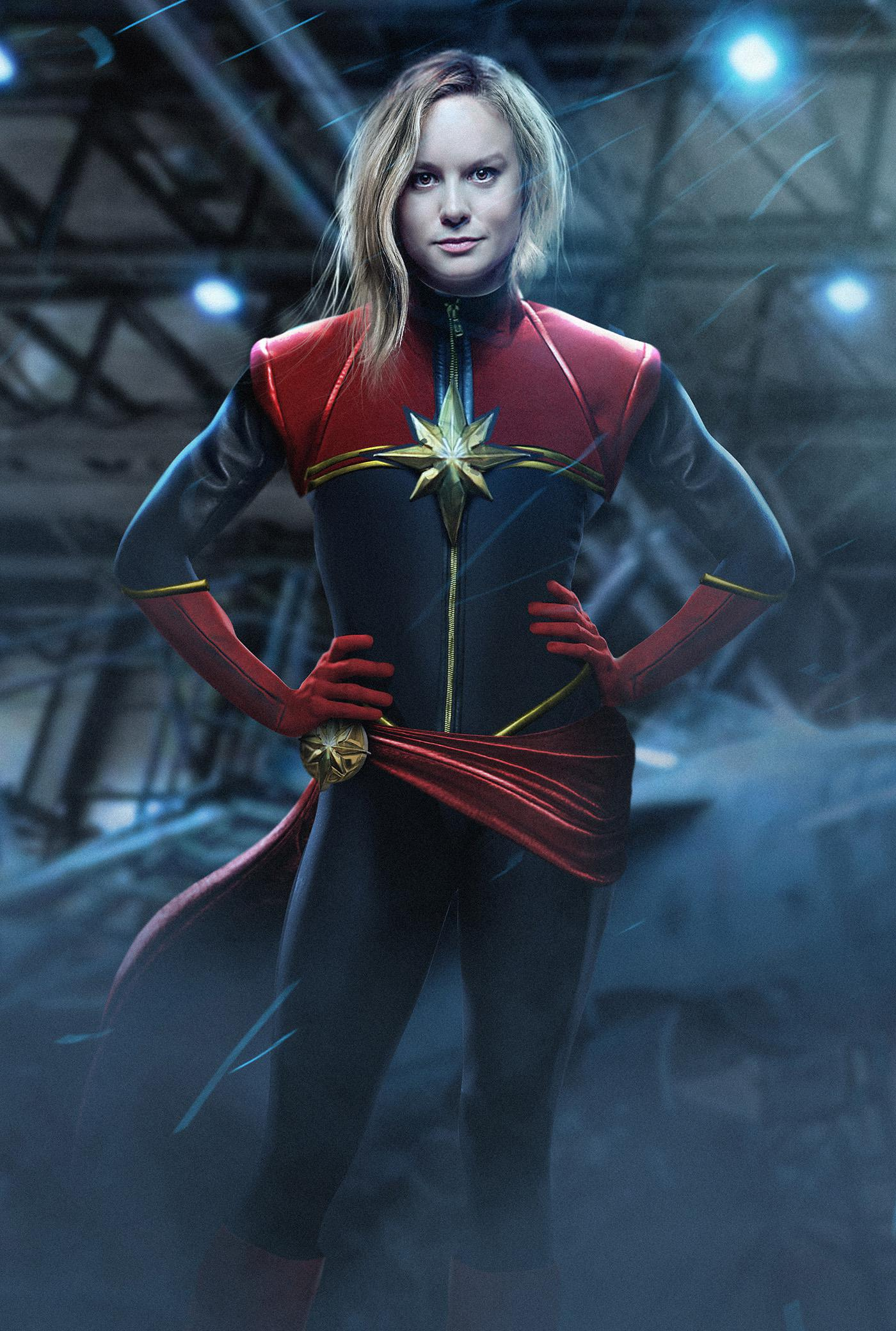 Captain Marvel - live action film con Brie Larson