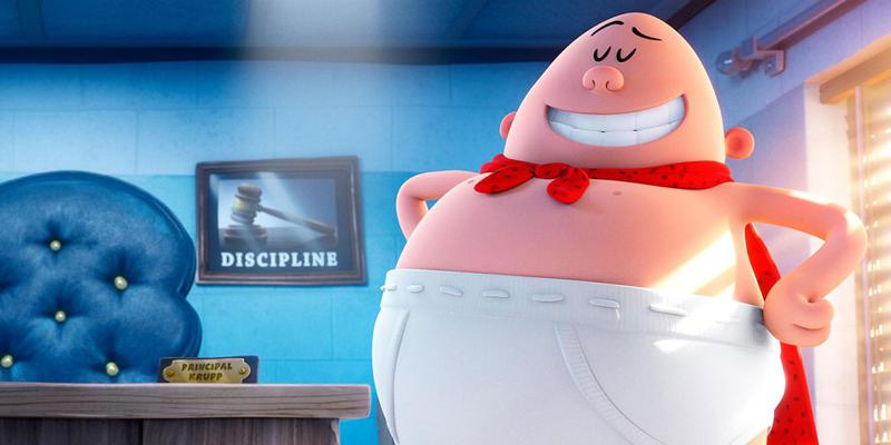 Captain Underpants - Capitan Mutanda - Dreamworks animated film
