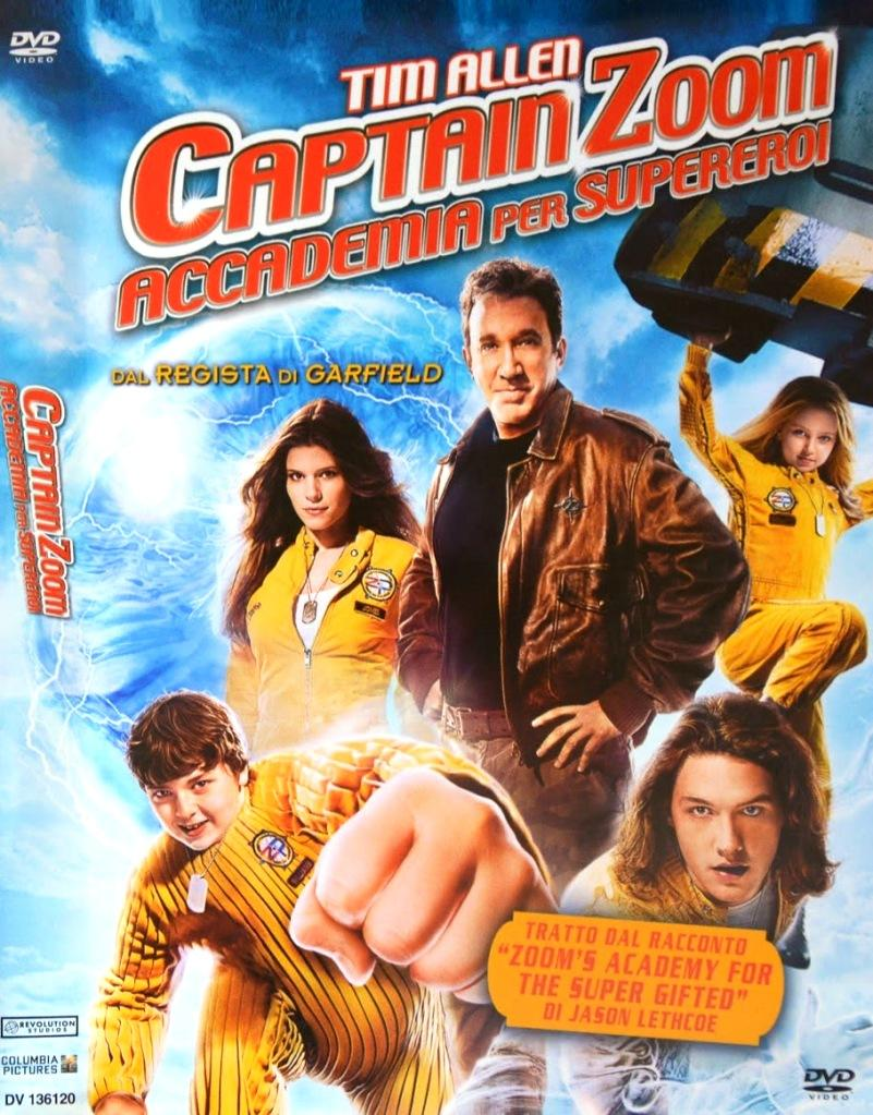 Captain Zoom Accademia per Supereroi - Tim Allen