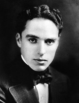 Charlie Chaplin - real face of the actor