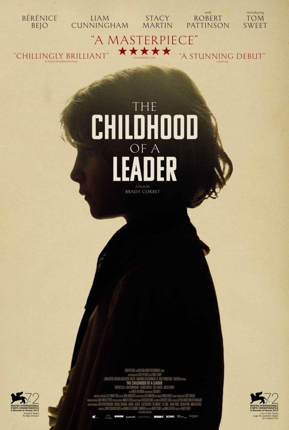 Childhood of a Leader - Infanzia di un Capo - film poster