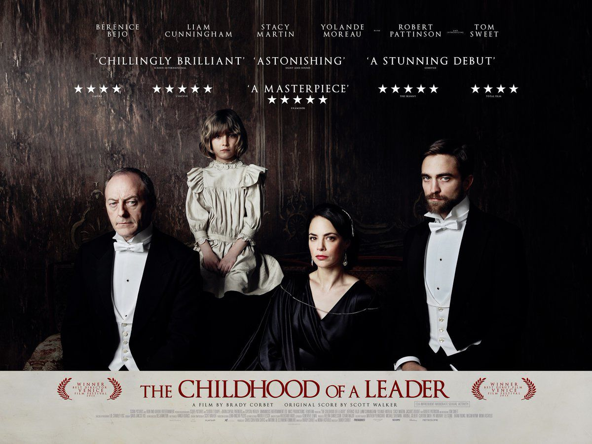 Childhood of a Leader - Infanzia di un Capo - Bérénice Bejo - Liam Cunningham - Stacy Martin - Yolande Moreau - Robert Pattinson - Tom Sweet - film by Brady Corbet - original score by Scott Walker