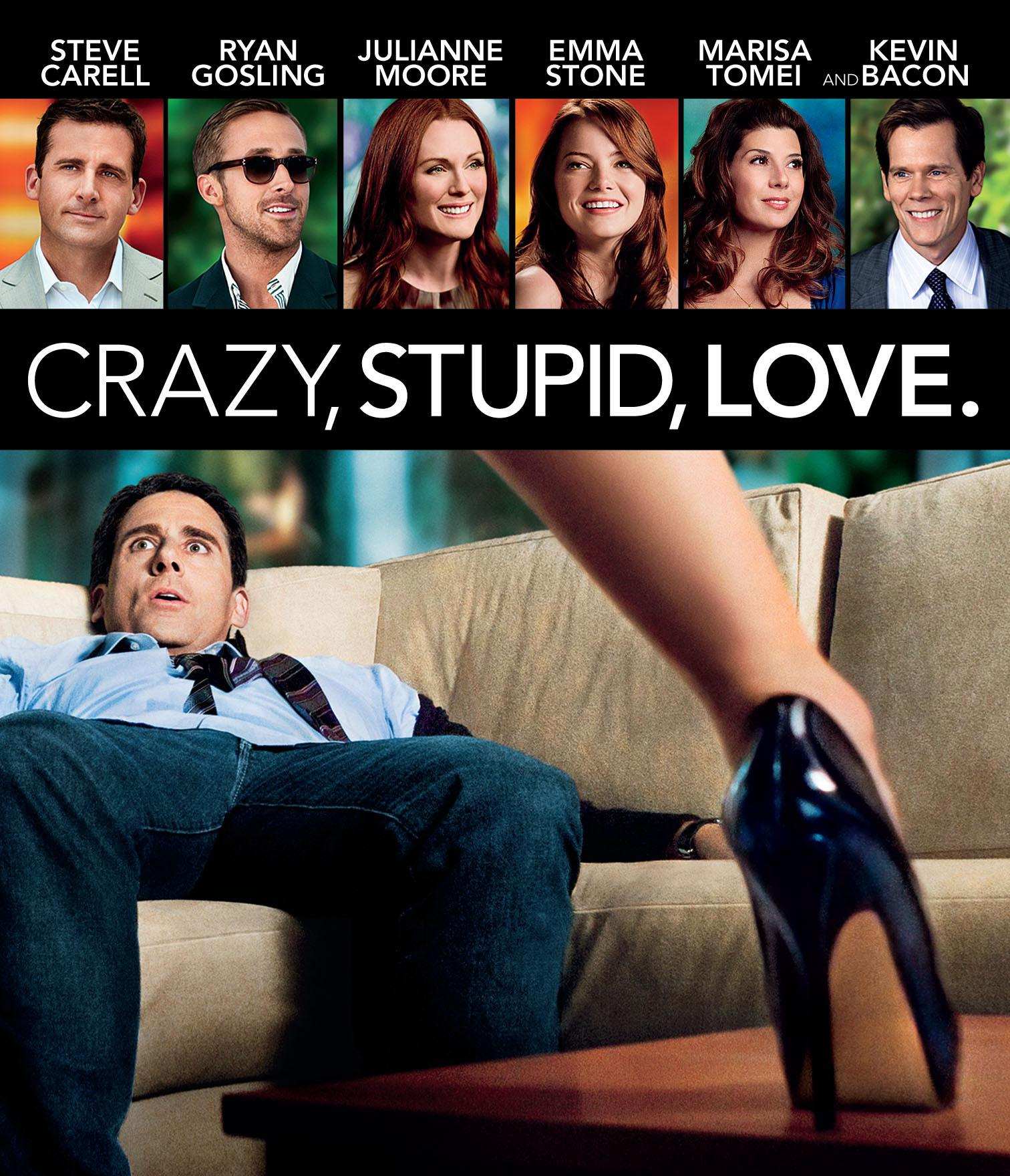 Crazy, Stupid, Love - Steve Carell - Ryan Gosling - Julianne Moore - Emma Stone - Marisa Tomei - Kevin Bacon