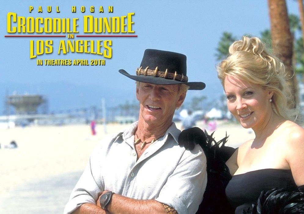 Mr Crocodile Dundee in Los Angeles