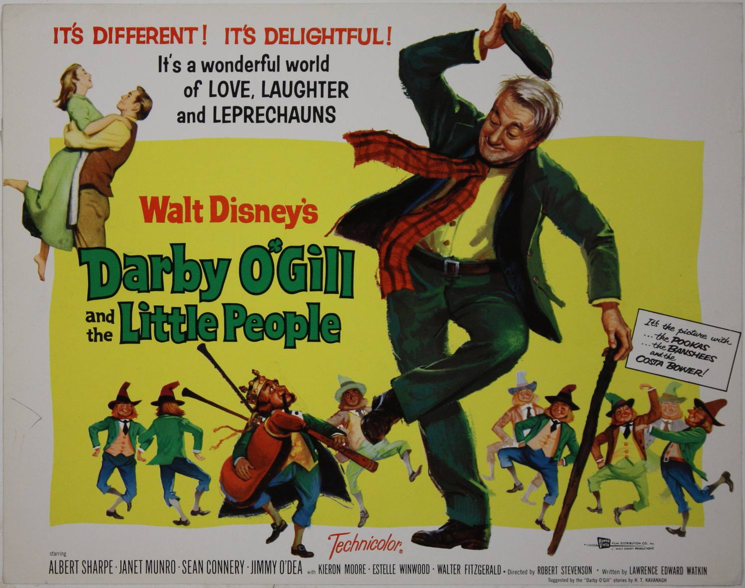 Darby O Gill e il Re dei Folletti - and the little People