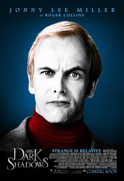 Jonny Lee Miller is Roger Collins
