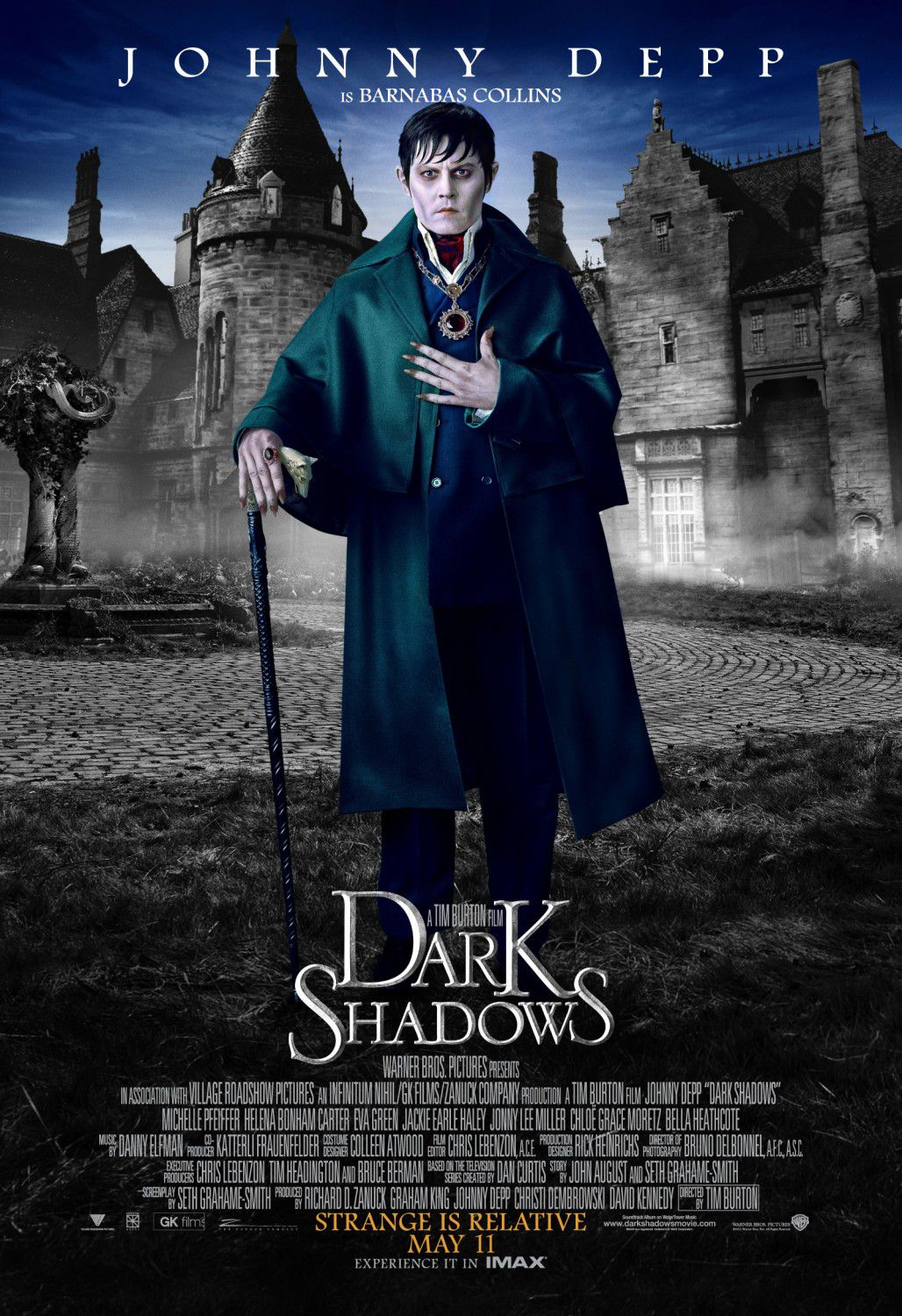 Johnny Depp is Barnabas Collins