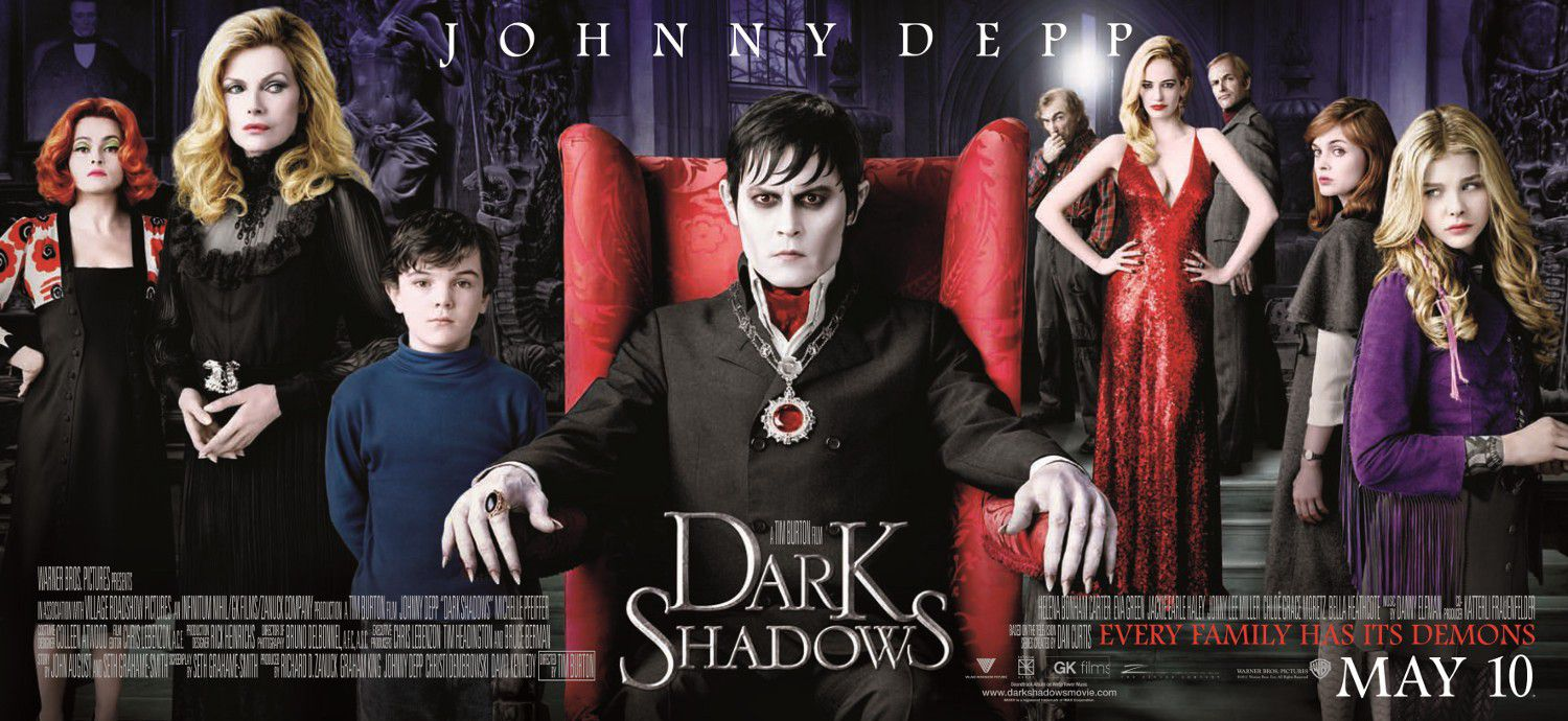 Dark Shadows cast banner
