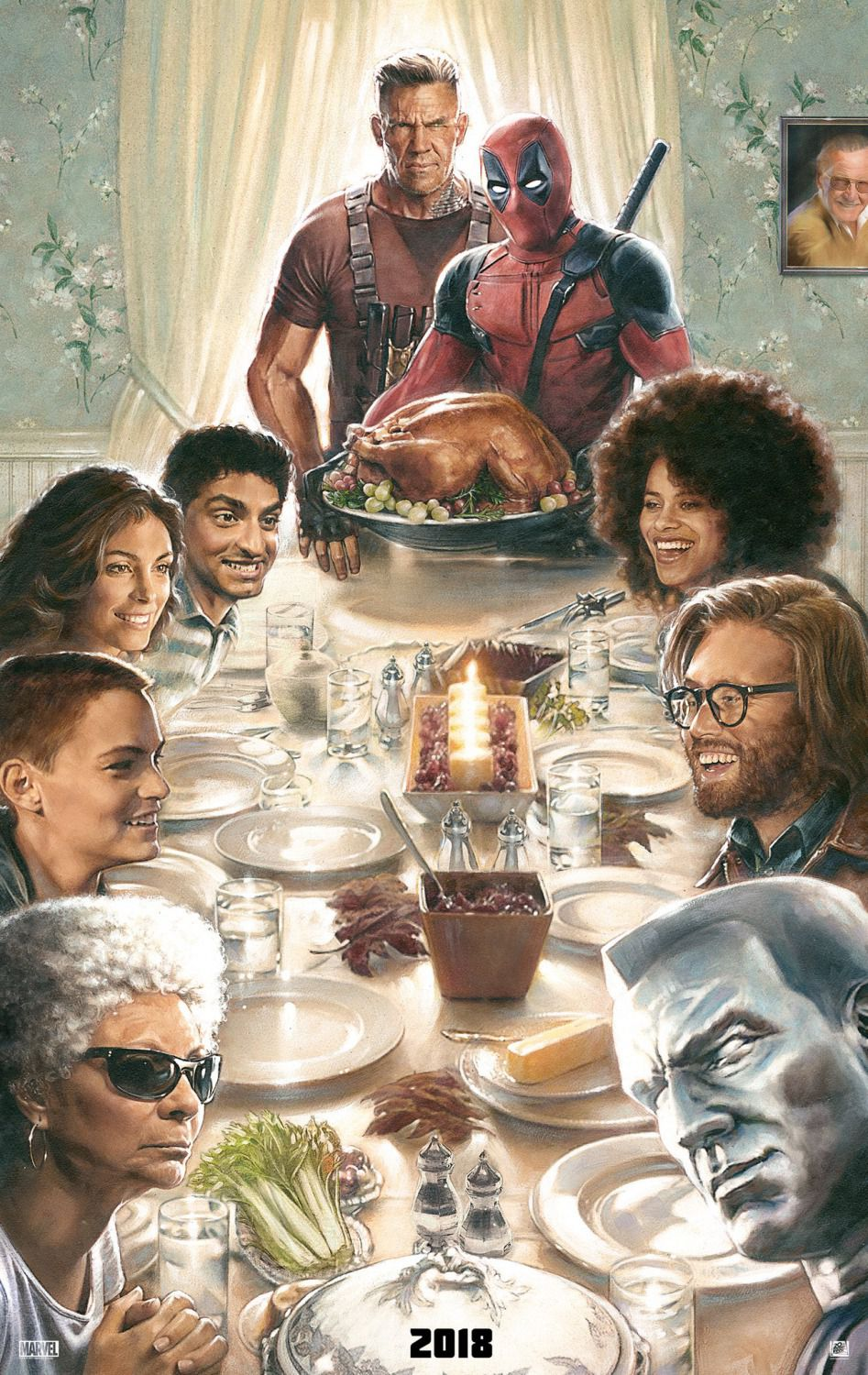 Deadpool 2 - thanksgiving super poster