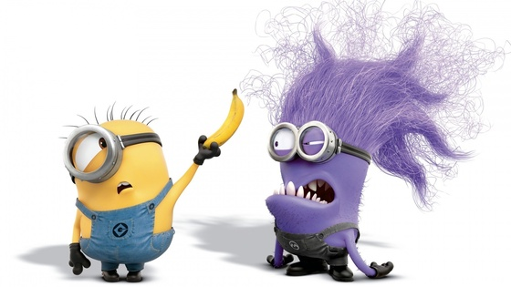 Cattivissimo Me 2 - Despicable Me 2 - Purple Bad Minion - viola o blu
