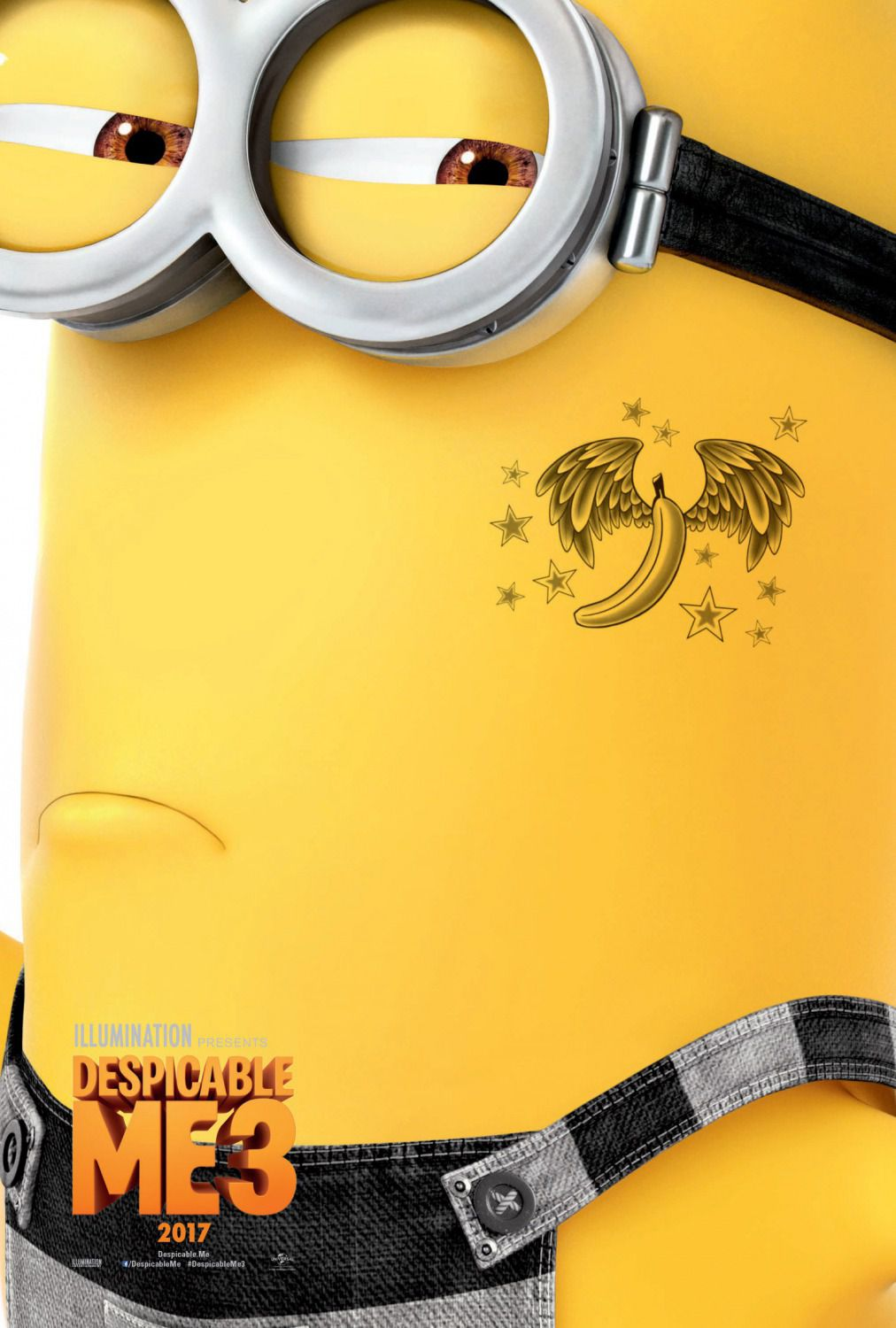 Despicable Me 3 - So Bad - Cattivissimo Me 3 - Minions Tatoo Banana