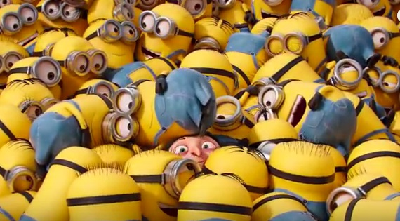 Cattivissimo me - Despicable me 3 - yellow Minions