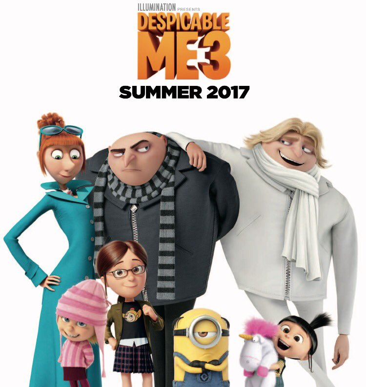 Cattivissimo me 3 - Despicable me 3 - Gru Family