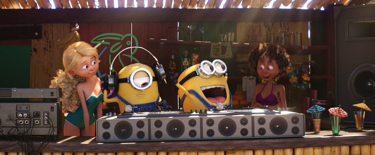 Cattivissimo me 3 - Despicable me 3 - Minions beach Party