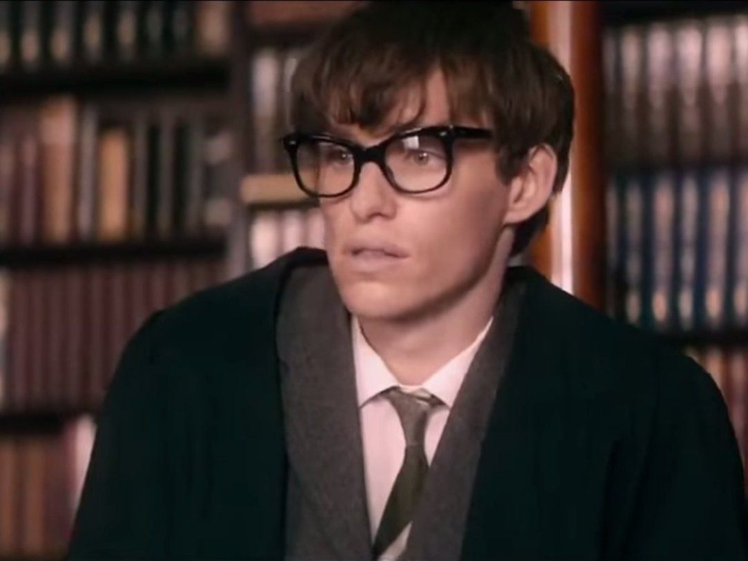 Eddie Redmayne - La Teoria del Tutto - The Theory of Everything - life of Stephen Hawking