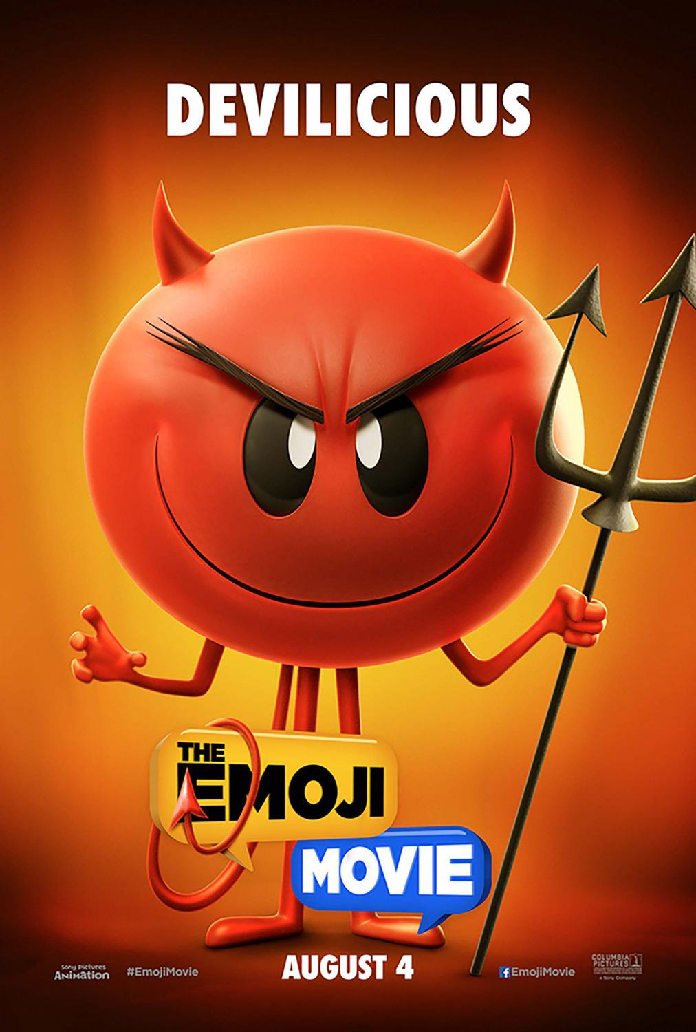Emoji - Emoticon animated movie - Devilicious - poster