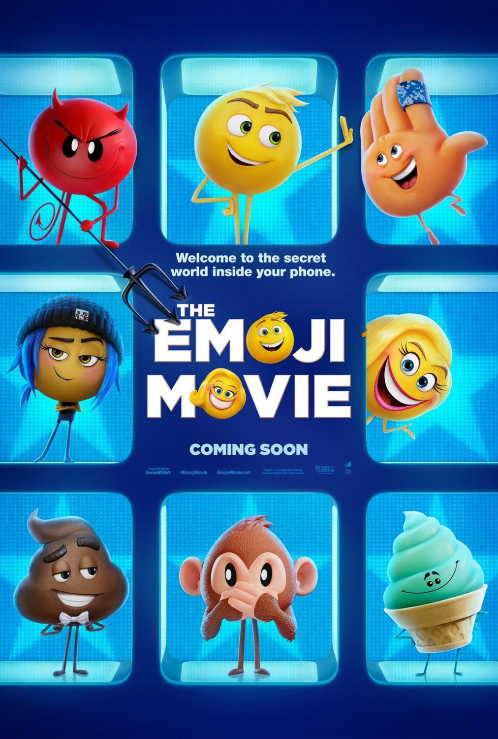 Emoji - Emoticon animated movie - poster