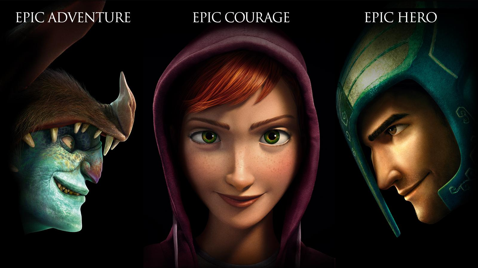 Epic Adventure ... Epic Courage ... Epic Hero ...