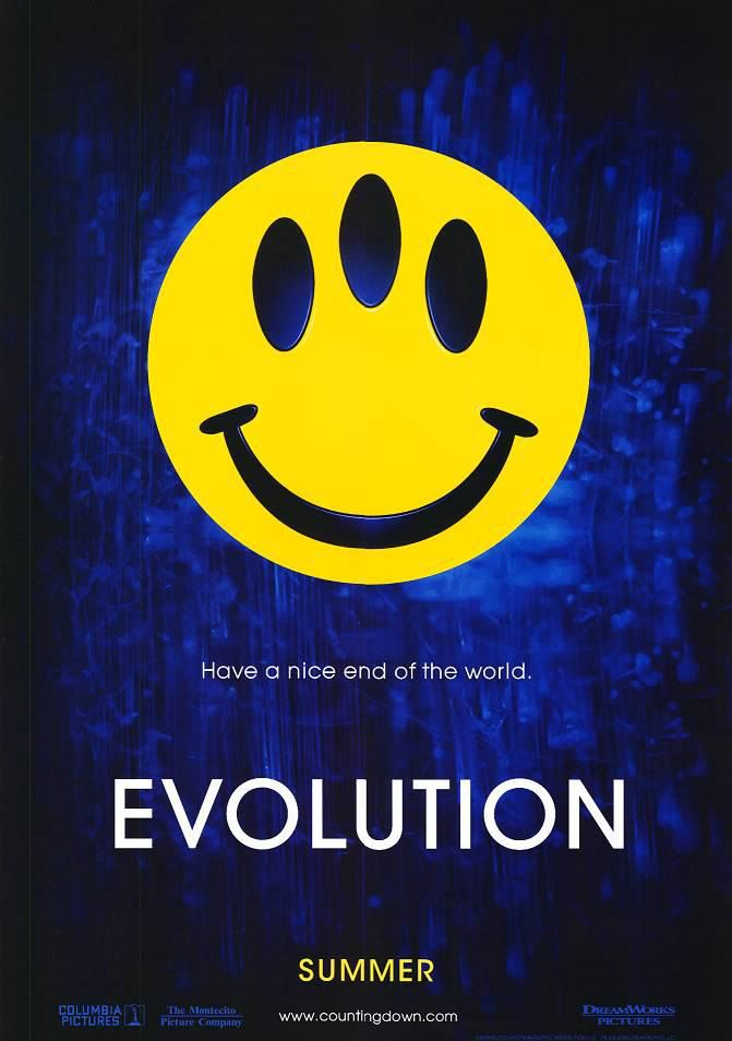 Evolution - scifi movie - an Ivan Reitman Film