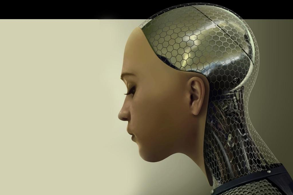 Ex-Machina scifi movie 2015 artificial intelligence film Turing test
