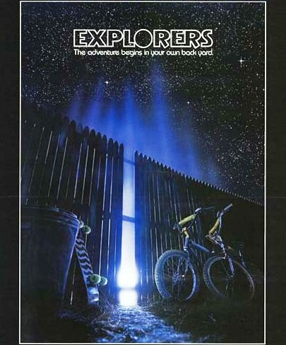 Explorers (1985) movie poster