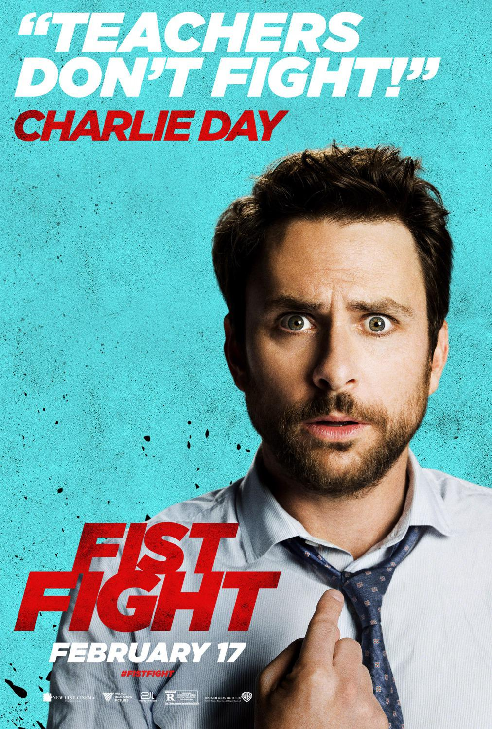 Fist Fight - Teachers don't fight - Charlie Day