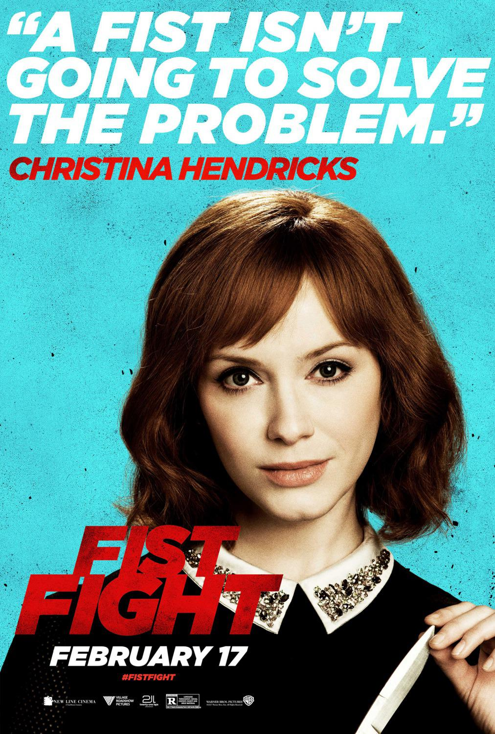 Fist Fight - A fist isn't going to solve the problem - Christina Hendricks