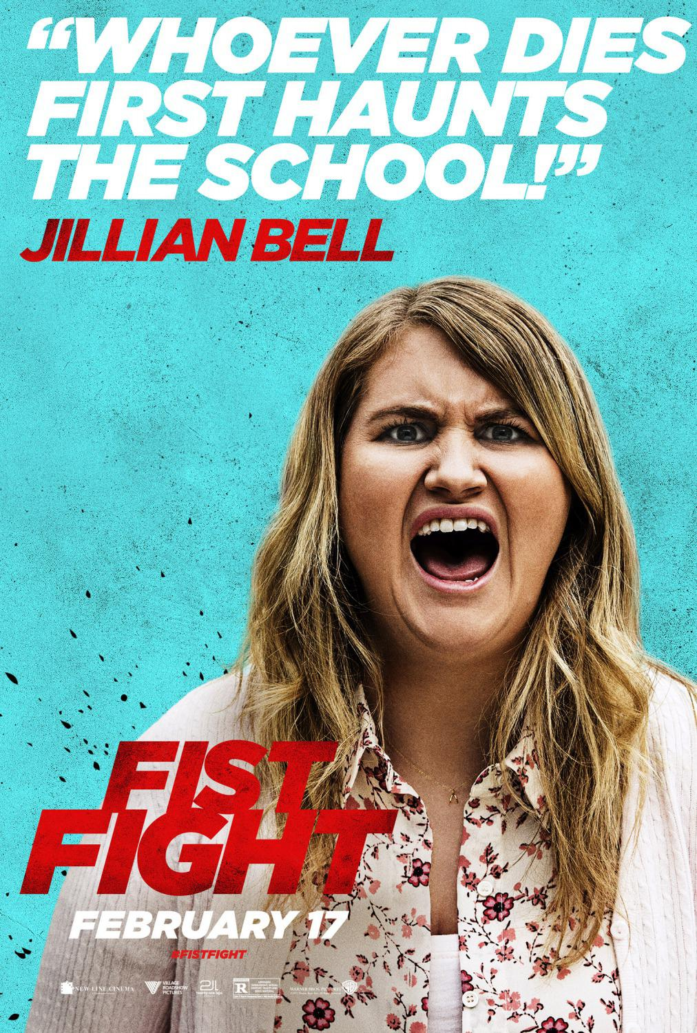 Fist Fight - Whoever dies first haunts the School - Jillian Bell