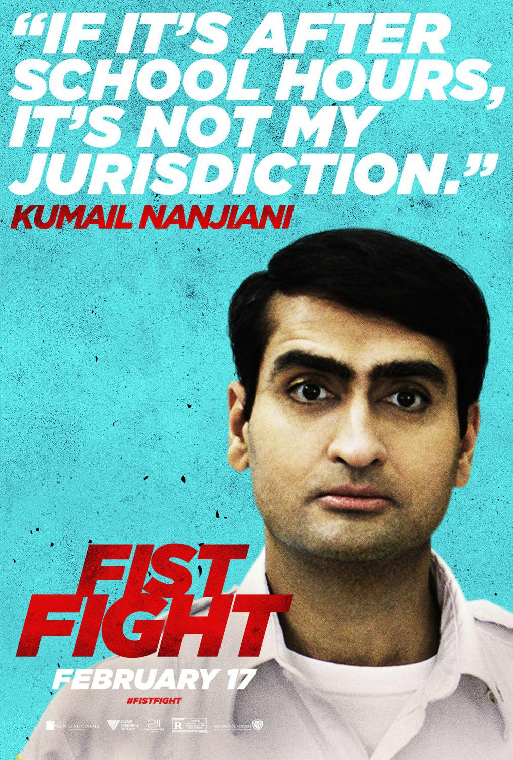 Fist Fight - If it's after school hours it's not my jurisdiction - Kumail Nanjiani