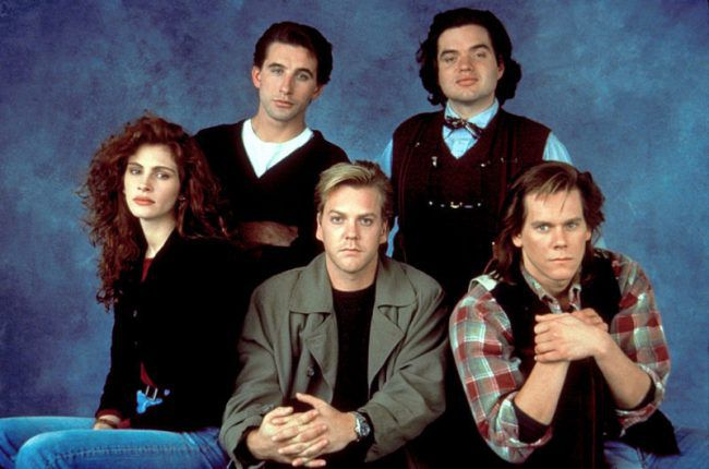 Flatliners - Linea Mortale - film del 1990 - CAST - Kiefer Sutherland - Julia Roberts - Kevin Bacon - William Baldwin - Oliver Platt - Kimberly Scott