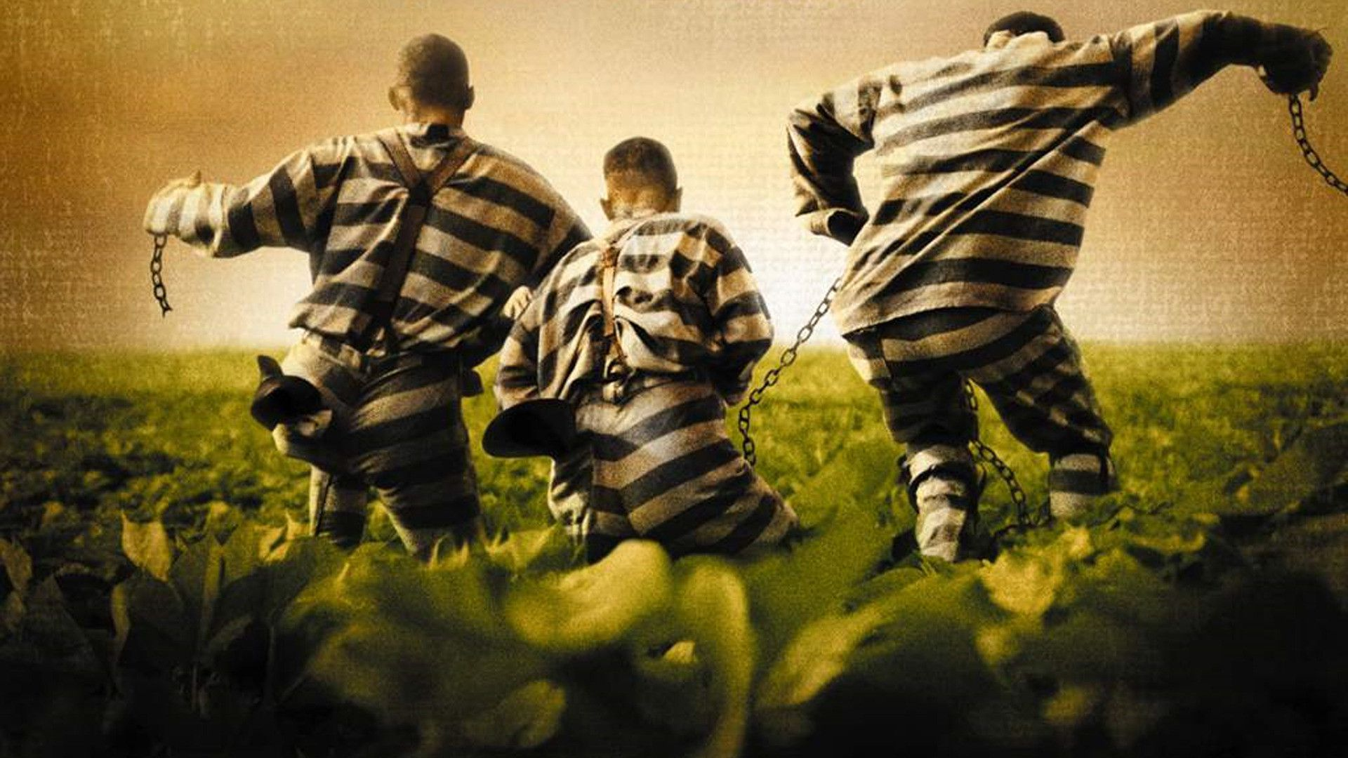 O Brother where art thou? - Fratello dove sei? - 3 Galeotti - jail prisoners green escape from jail