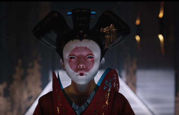 Ghost in the Shell (live action 2017) - cyber geisha