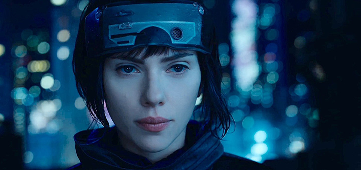 Ghost in the Shell (live action 2017) - Maggiore - Major - Scarlett Johansson