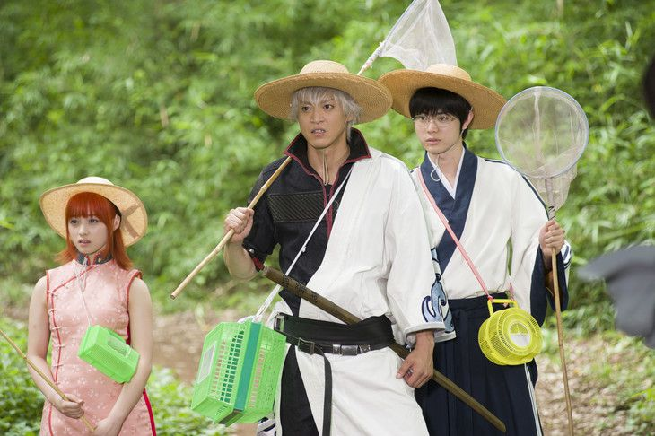 Gintama - live action film - scene
