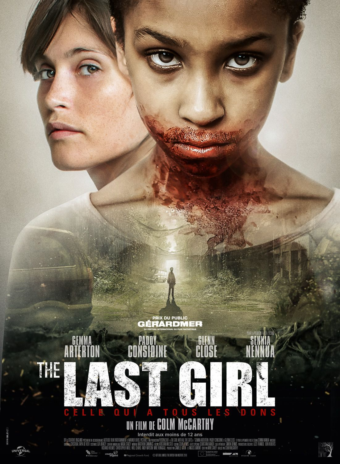 Girl with all the Gifts - last Girl - Gemma Arterton, Paddy Considine, Glenn Close, Sennia Nanua