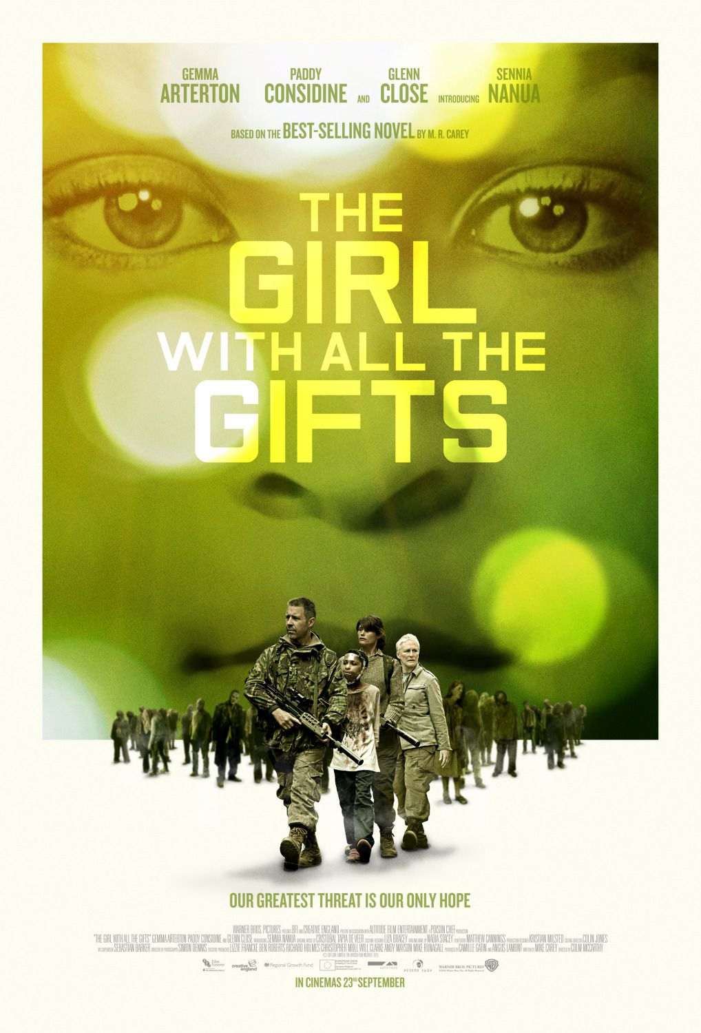 Girl with all the Gifts - poster
