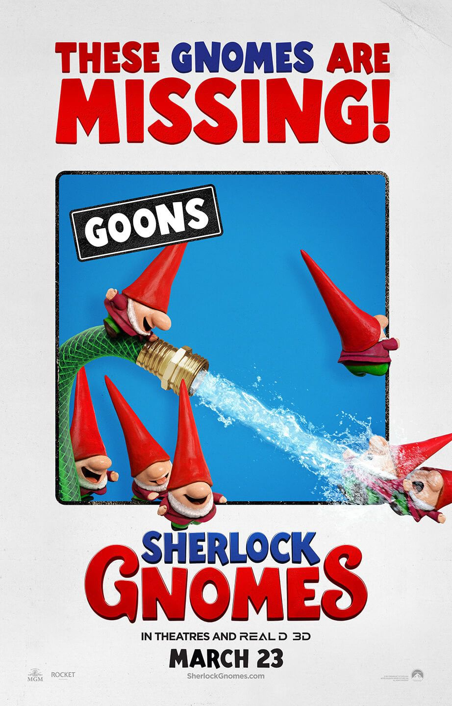 Gnomeo and Juliet 2 - Sherlock Gnomes